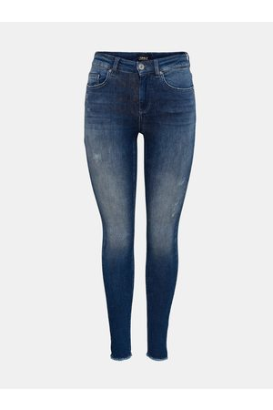 ONLY Tmavě modré skinny džíny Blush