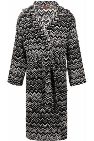 Missoni Home Striped tie-fastening robe
