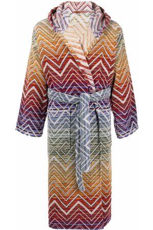 Missoni Home Zig-zag pattern robe