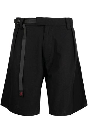 WHITE MOUNTAINEERING X Gramicci linen-blend belted shorts