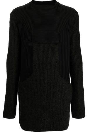 Rick Owens Mohair-blend long-sleeved jumper
