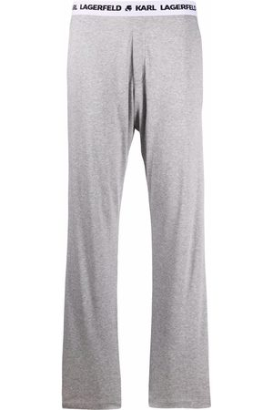Karl Lagerfeld Ženy Pyžama - Logo band pajama trousers