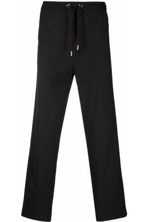 Les Hommes Jetted-pocket track pants