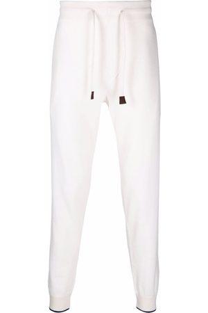 Fedeli Drawstring cashmere track pants
