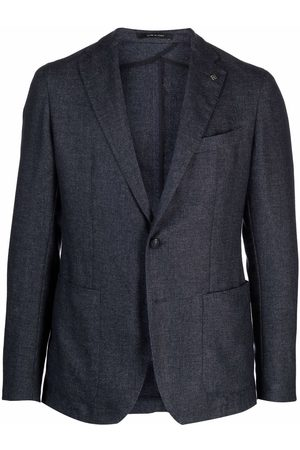 Tagliatore Single-breasted cashmere blazer