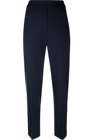 Etro Slim-cut high-waisted trousers