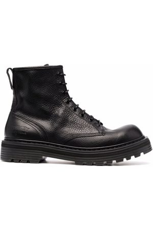 Premiata Leather lace-up boots