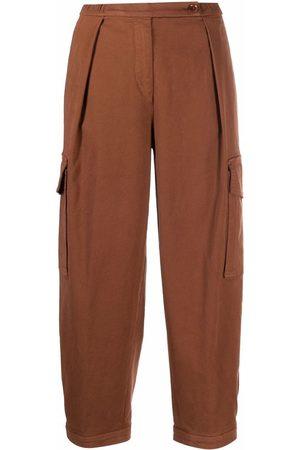 Aspesi Ženy Kapsáče - Straight-leg cotton cargo pants