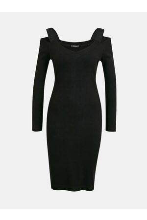 Guess Černé pouzdrové šaty Anagreta