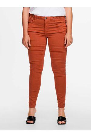 Carmakoma Cihlové skinny kalhoty