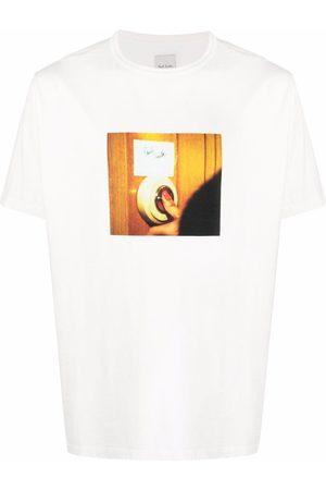 Paul Smith Muži S krátkým rukávem - Doorbell photo print T-shirt