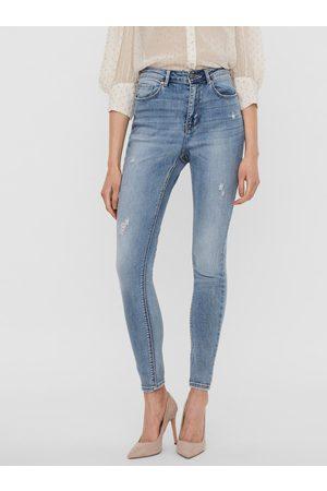 VERO MODA Světle modré skinny fit džíny Sophia