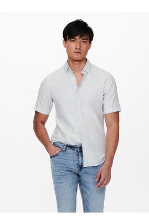 Only & Sons Světle košile s krátkým rukávem
