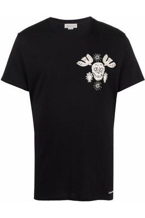 Alexander McQueen Skull-print cotton T-shirt
