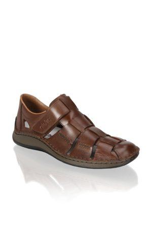 Rieker Hladká kůže klasické sandály