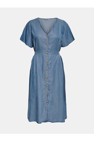 ONLY Modré džínové šaty Nikoline