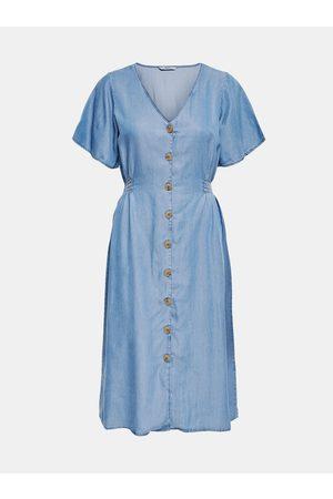 ONLY Světle modré džínové šaty Nikoline