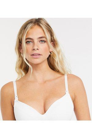 Lindex Exclusive moulded nursing bra in white