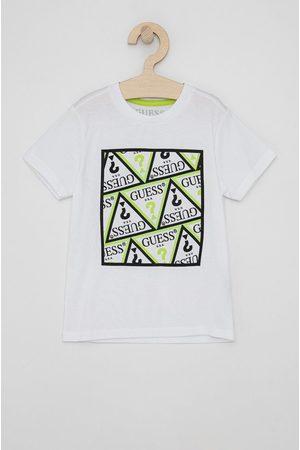 Guess Dětské bavlněné tričko