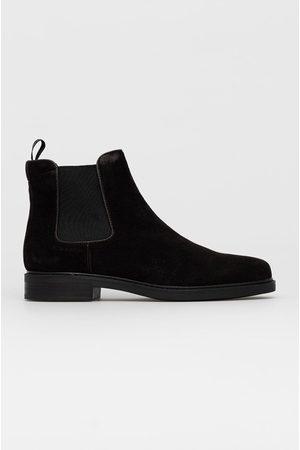 Calvin Klein Semišové kotníkové boty