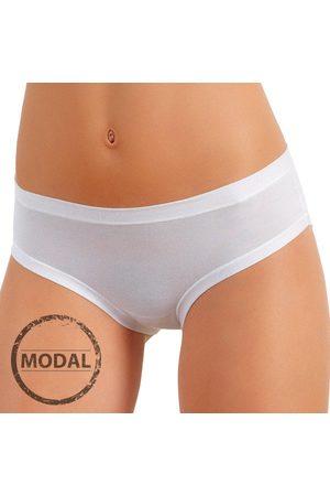 JADEA Italské klasické kalhotky 509 s modalem tělová S