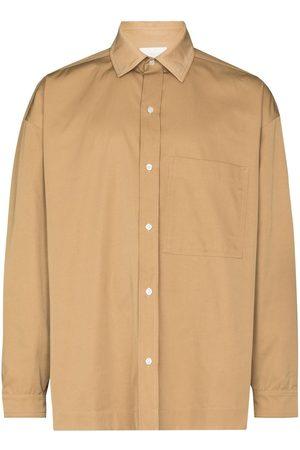 LOU DALTON Chest-pocket long-sleeve shirt