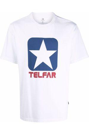 TELFAR Logo-print short-sleeved T-shirt