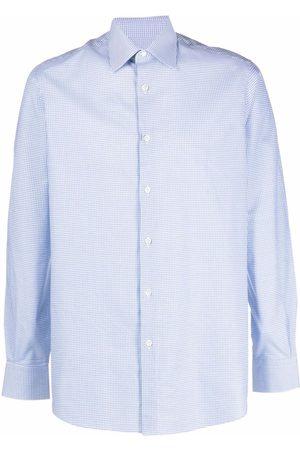 Pal Zileri Check-print long-sleeve shirt