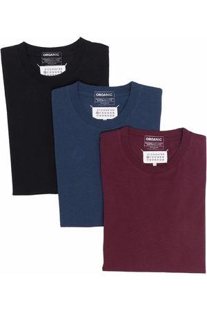 Maison Margiela Muži S krátkým rukávem - Four-stitch T-shirts (pack of 3)