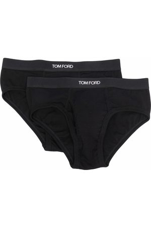 TOM FORD Two-pack logo-waistband briefs