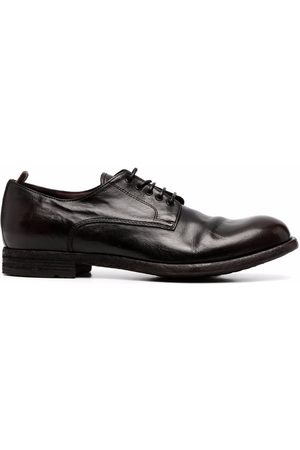 Officine creative Journal leather derby shoes