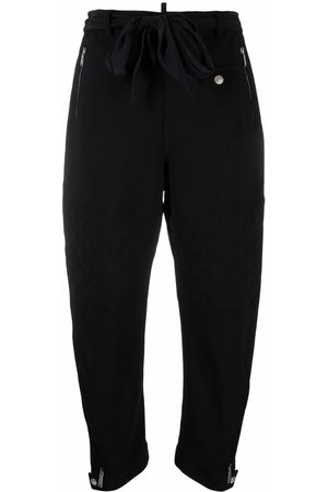 Dsquared2 Cropped quilted track pants