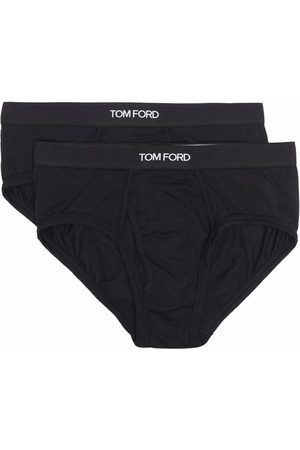 Tom Ford Muži Boxerky - Logo-waistband briefs (pack of 2)