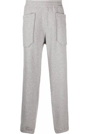 Z Zegna Elasticated waistband straight trousers