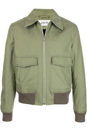 Lanvin Cargo-pocket bomber jacket