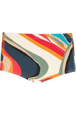 Lygia & Nanny Parati print swimming trunks