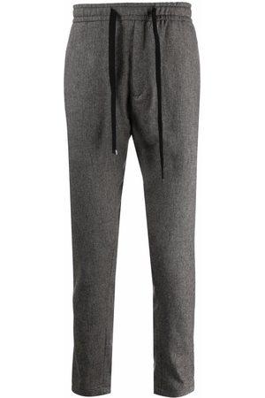 Dondup Drawstring-waist straight trousers