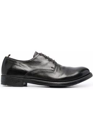 Officine creative Muži Do práce - Polished leather derby shoes