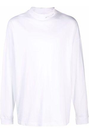 1017 ALYX 9SM Muži S dlouhým rukávem - Oversized logo-print T-shirt