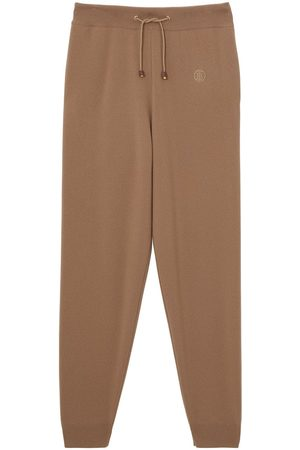 Burberry TB monogram knitted track pants