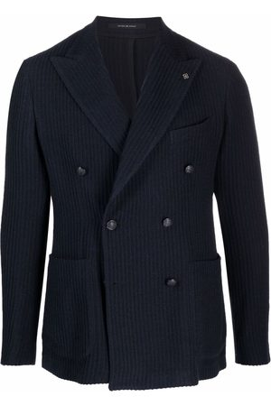 TAGLIATORE Double-breasted buttoned jacket