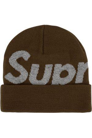 Supreme Big logo beanie