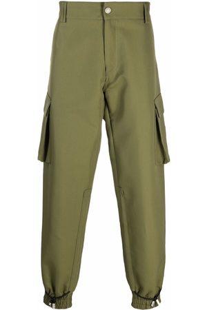 GCDS Muži Kapsáče - Logo-patch cargo trousers