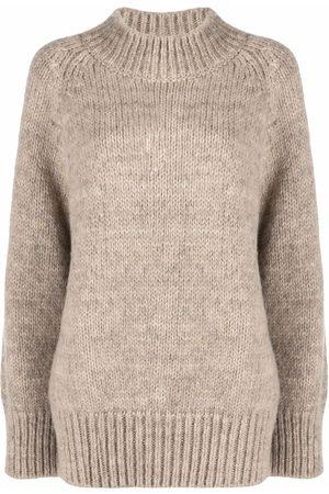 Maison Margiela Ženy Ke krku - High neck knitted jumper