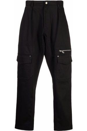 Les Hommes Muži Rovné nohavice - Zip-pocket trousers