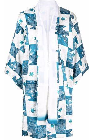 A.N.G.E.L.O. Vintage Cult Ženy Kimona - 1970s floral patchwork kimono