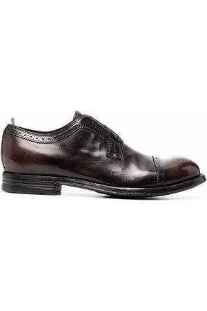 Officine creative Muži Do práce - Balance leather derby shoes