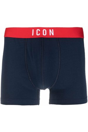Dsquared2 Muži Boxerky - ICON waistband boxer briefs