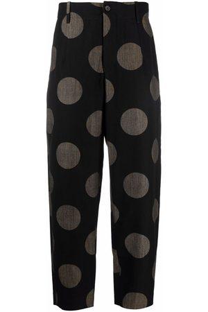 UMA WANG Muži Široké nohavice - Polka dot trousers
