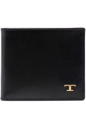 Tod's Muži Peněženky - Logo-plaque leather wallet